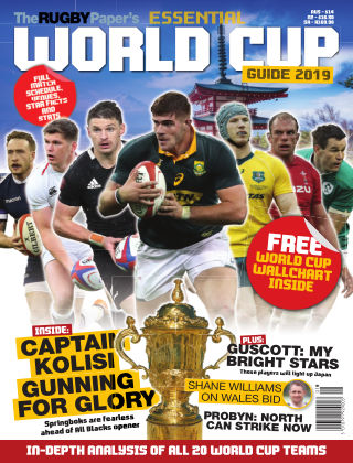 The Rugby Paper's Essential World Cup Guide (SH) World Cup 2019