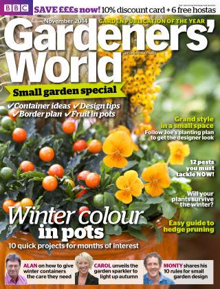 BBC Gardeners World November