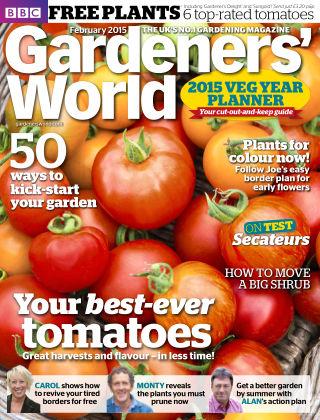 BBC Gardeners World February 2015