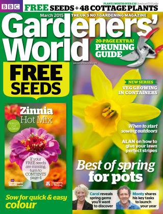 BBC Gardeners World March 2015