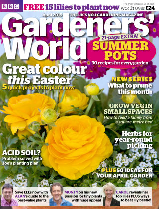 BBC Gardeners World April 2015