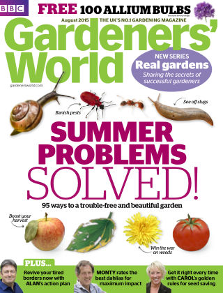BBC Gardeners World August 2015