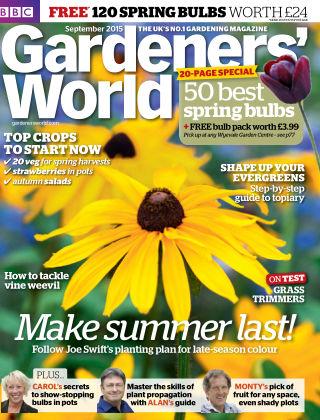 BBC Gardeners World September 2015