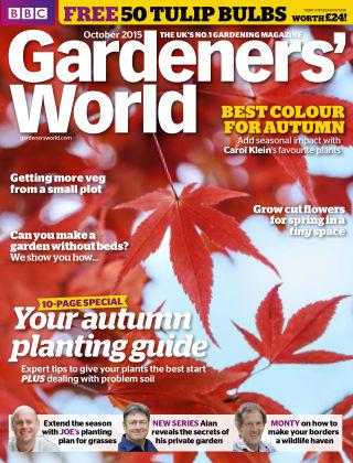 BBC Gardeners World October 2015