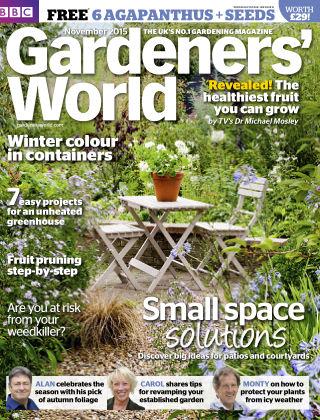 BBC Gardeners World November 2015