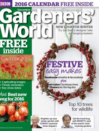 BBC Gardeners World December 2015