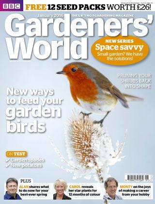 BBC Gardeners World January 2016