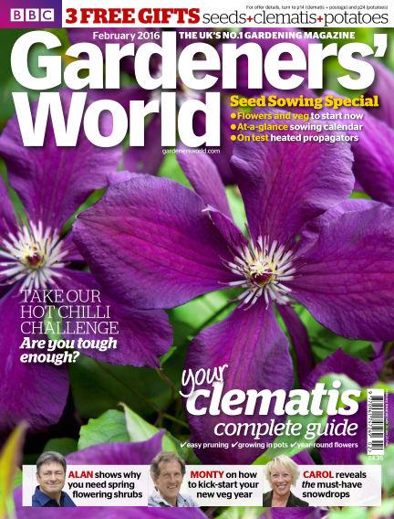 BBC Gardeners World January 26, 2016 00:00