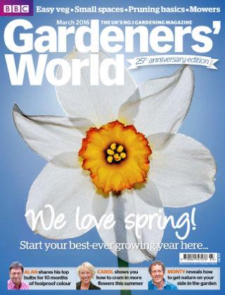 BBC Gardeners World March 2016