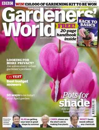 BBC Gardeners World April 2016