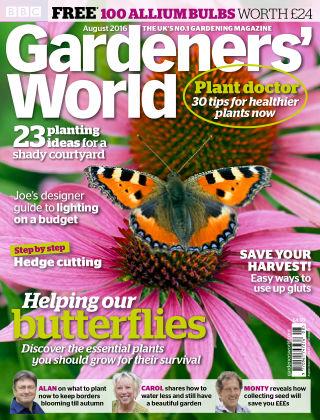 BBC Gardeners World August 2016