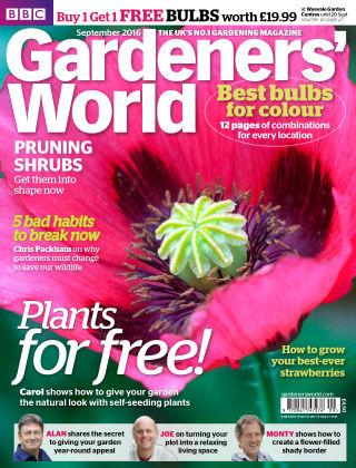 BBC Gardeners World September 2016
