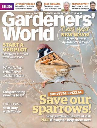 BBC Gardeners World January 2017