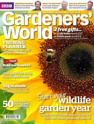 BBC Gardeners World February 2017