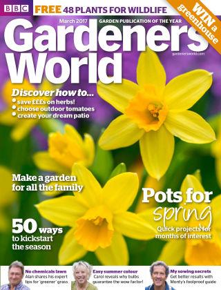 BBC Gardeners World March 2017
