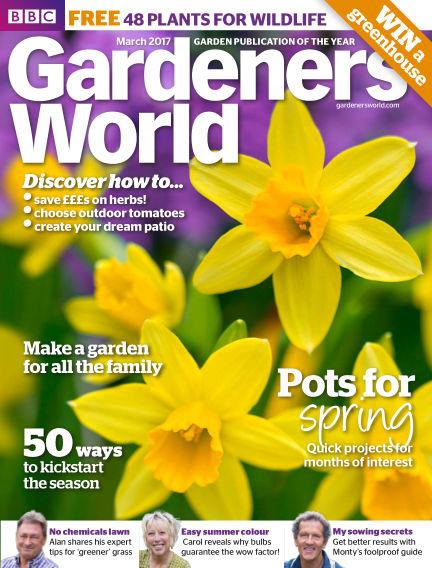 BBC Gardeners World February 22, 2017 00:00