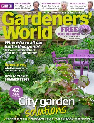 BBC Gardeners World August 2017
