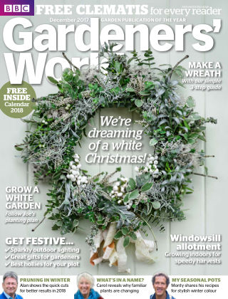 BBC Gardeners World December 2017