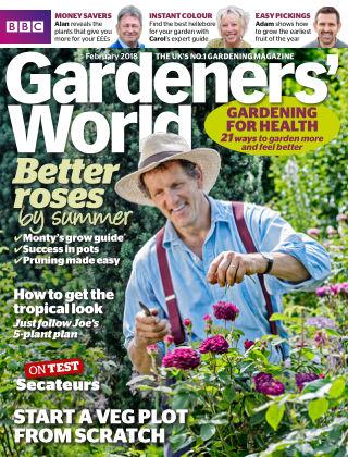 BBC Gardeners World February 2018