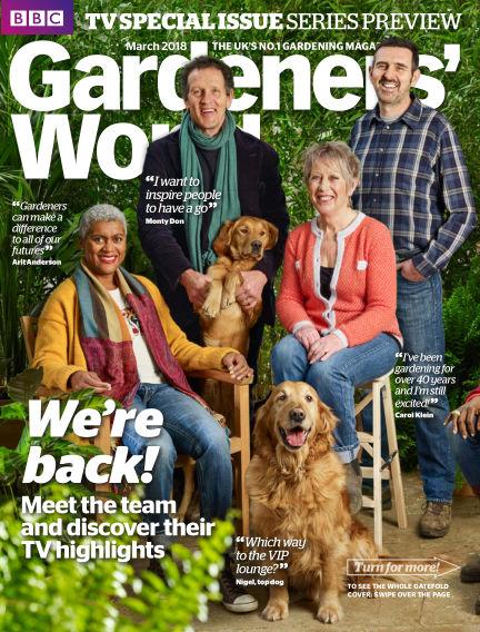 BBC Gardeners World February 22, 2018 00:00