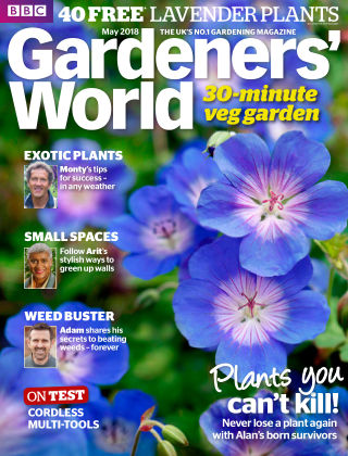 BBC Gardeners World May 2018
