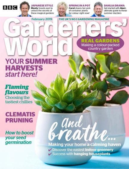 BBC Gardeners World January 18, 2019 00:00