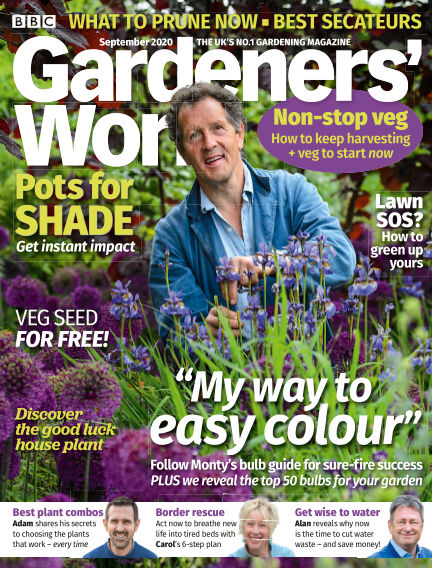 BBC Gardeners World August 20, 2020 00:00