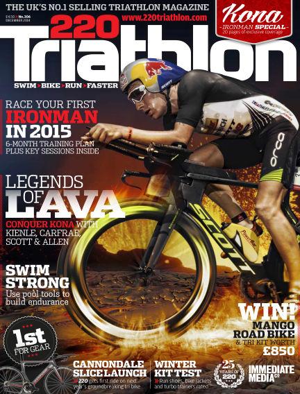 220 Triathlon November 11, 2014 00:00