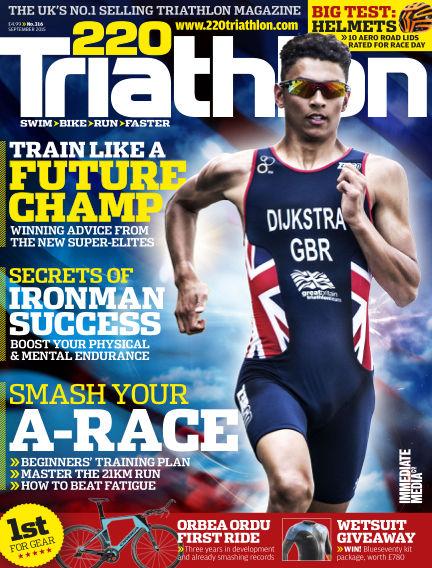 220 Triathlon August 18, 2015 00:00