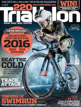 220 Triathlon Nov 2015