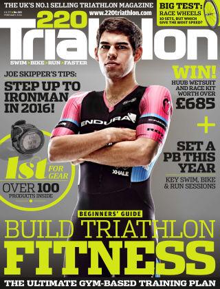 220 Triathlon Feb 2016