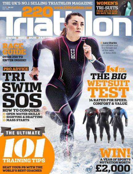 220 Triathlon April 28, 2016 00:00