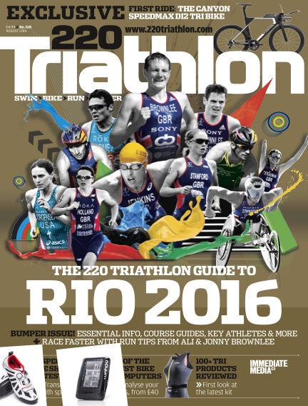 220 Triathlon July 18, 2016 00:00