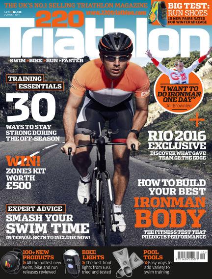 220 Triathlon September 13, 2016 00:00