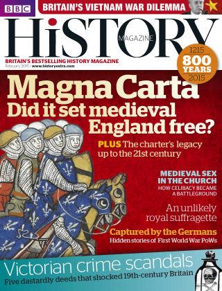 BBC History Feb 2015