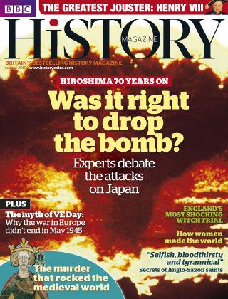 BBC History Aug 2015