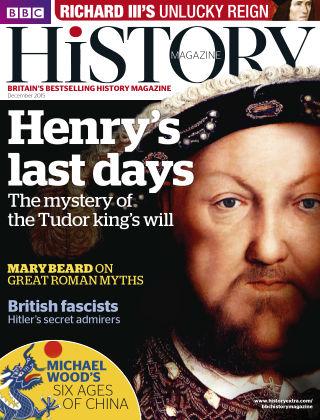BBC History Dec 2015