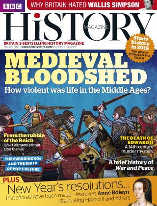 BBC History Jan 2016