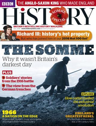 BBC History July 2016
