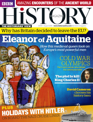 BBC History Aug 2016