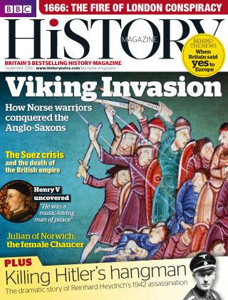 BBC History Sep 2016
