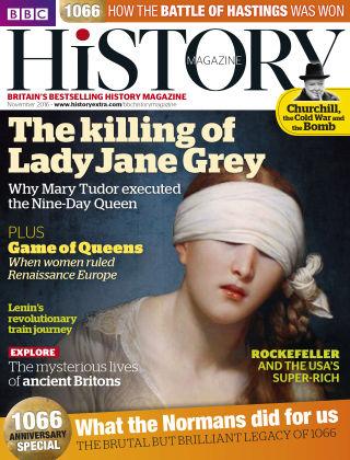 BBC History November 2016