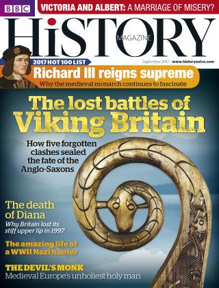 BBC History September 2017