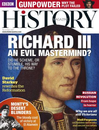 BBC History November 2017