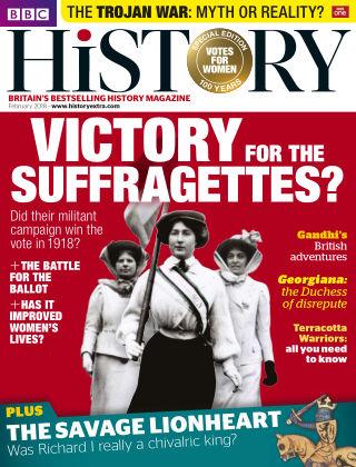 BBC History February 2018