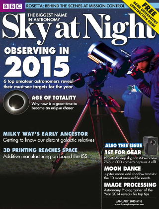 BBC Sky at Night January 2015