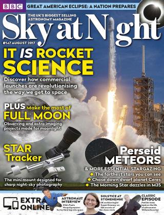BBC Sky at Night Magazine August 2017
