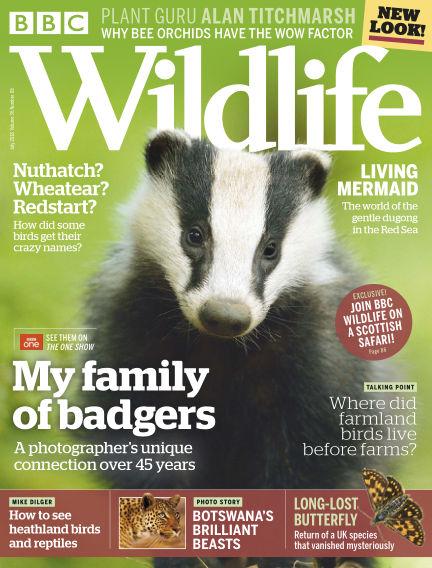 BBC Wildlife July 04, 2018 00:00
