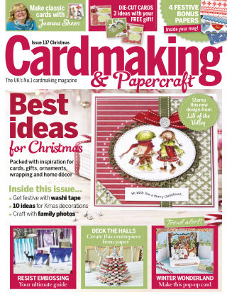 Cardmaking and Papercraft Christmas 2014