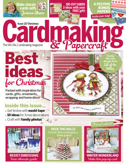 Cardmaking and Papercraft October 30, 2014 00:00